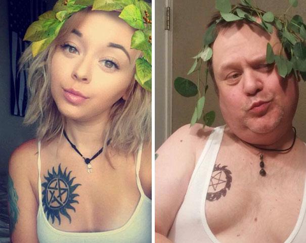 selfie-papa-fille-hypee