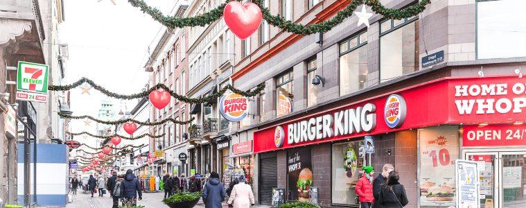 Burger King noël en Juillet