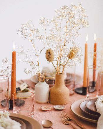 Table Mariage Terracotta