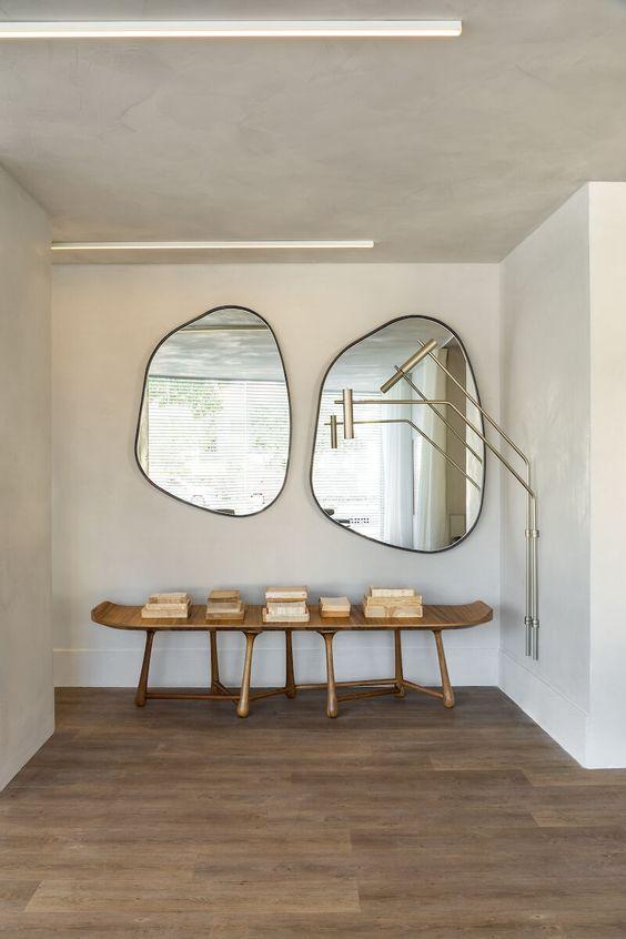 Miroirs irréguliers - Tendances déco 2021