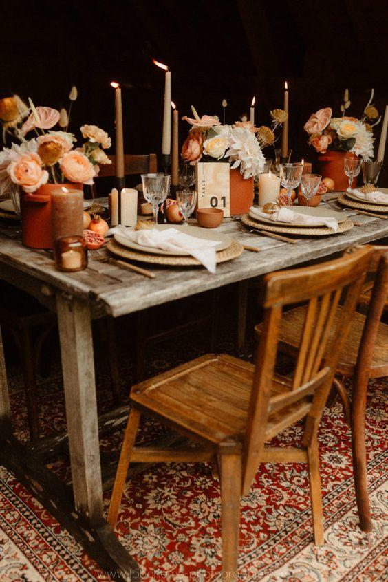 Mariage Terracotta - Quelles chaises ?