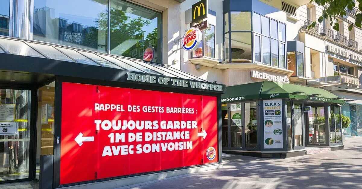 Campagne Marketing Burger King 2020