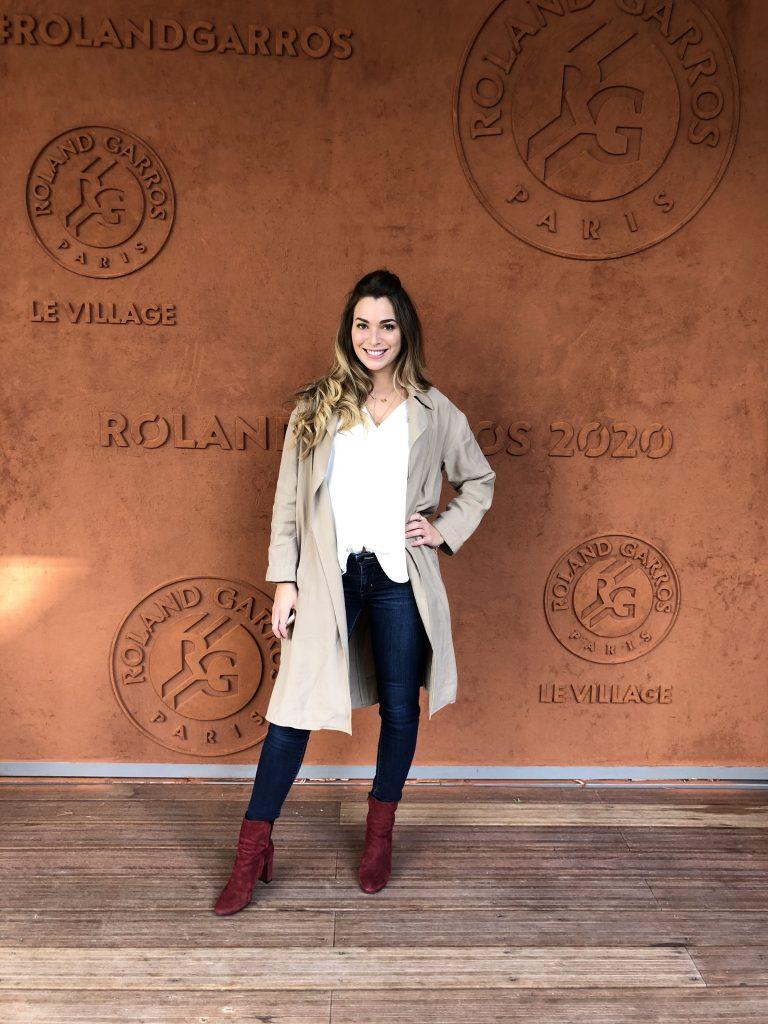 Charlotte, Head of Hypee Events, sur le tournoi de Roland-Garros 2020