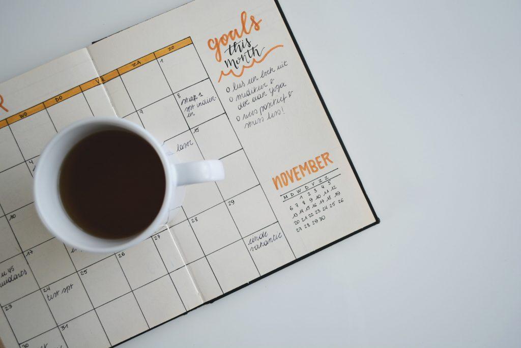 L'agenda d'un chef d'entreprise