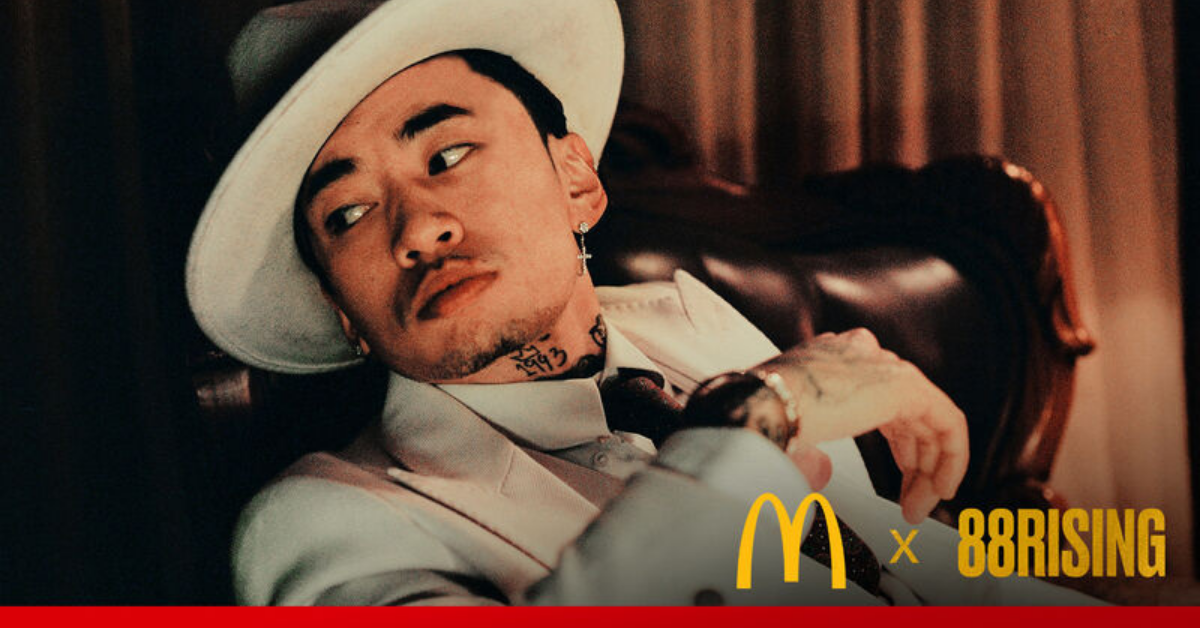 McDonald's ft 88rising