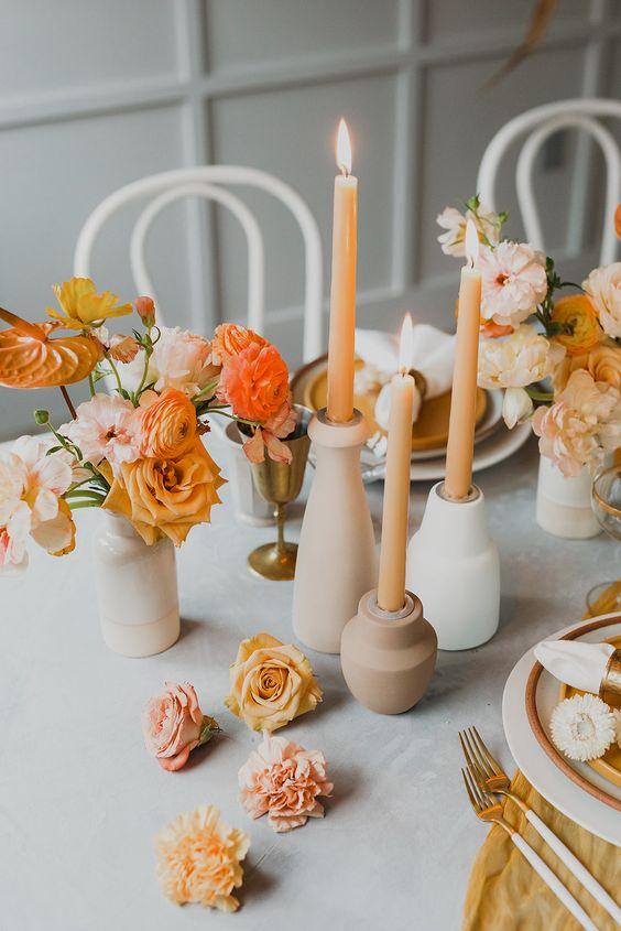 fleurs mariage de printemps