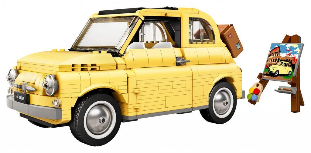 Fiat 500 en legos