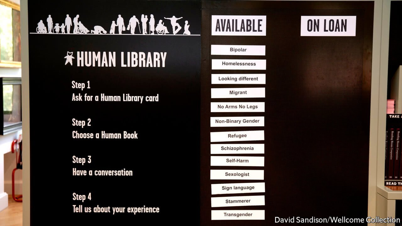 The Human Library: l'événement intellectuel dont on a besoin!
