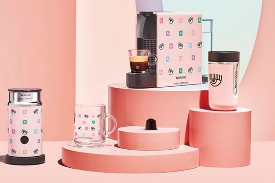 Les créations de la campagne d'influence Nespresso x Chiara Ferragni